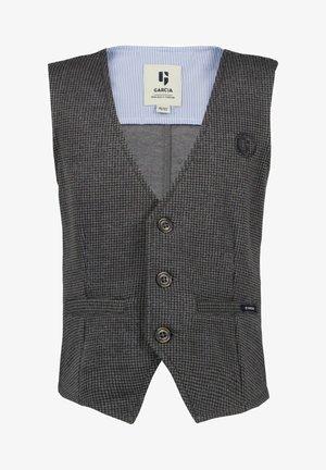 Waistcoat - grey heather