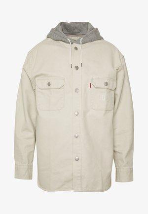 HOODED JACKSON OVERSHIRT - Summer jacket - fog