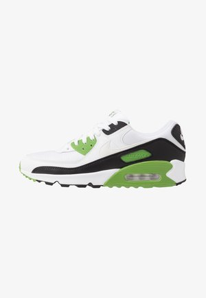 AIR MAX 90 - Matalavartiset tennarit - white/chlorophyll/black