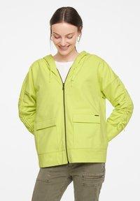 comma casual identity - Zip-up sweatshirt - lime - 0
