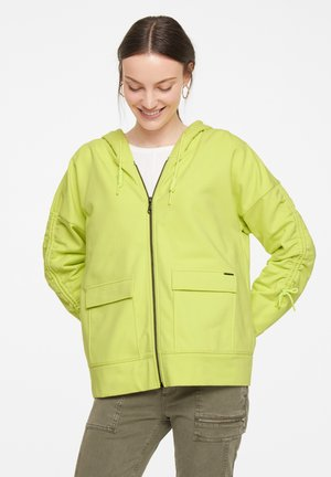 Zip-up sweatshirt - lime