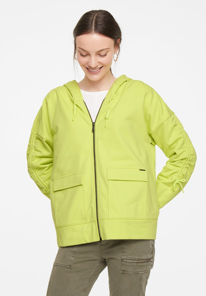 comma casual identity - Zip-up sweatshirt - lime