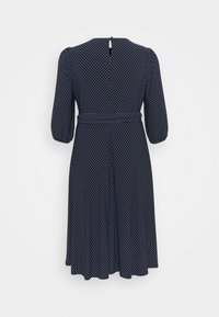 Lauren Ralph Lauren Woman - FELIA LONG SLEEVE DAY DRESS - Jersey dress - lighthouse navy/colonial - 1