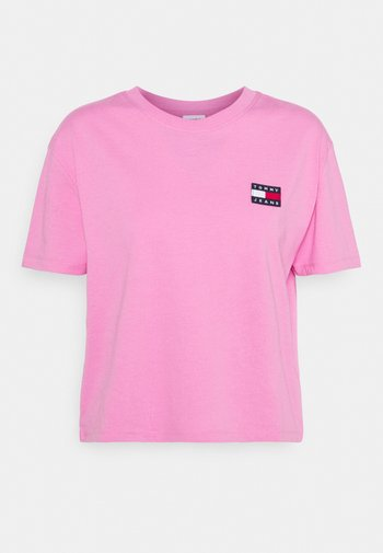 BADGE TEE - T-shirt basic - pink daisy