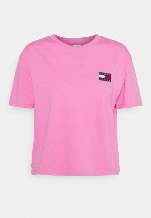 BADGE TEE - T-shirt basique - pink daisy