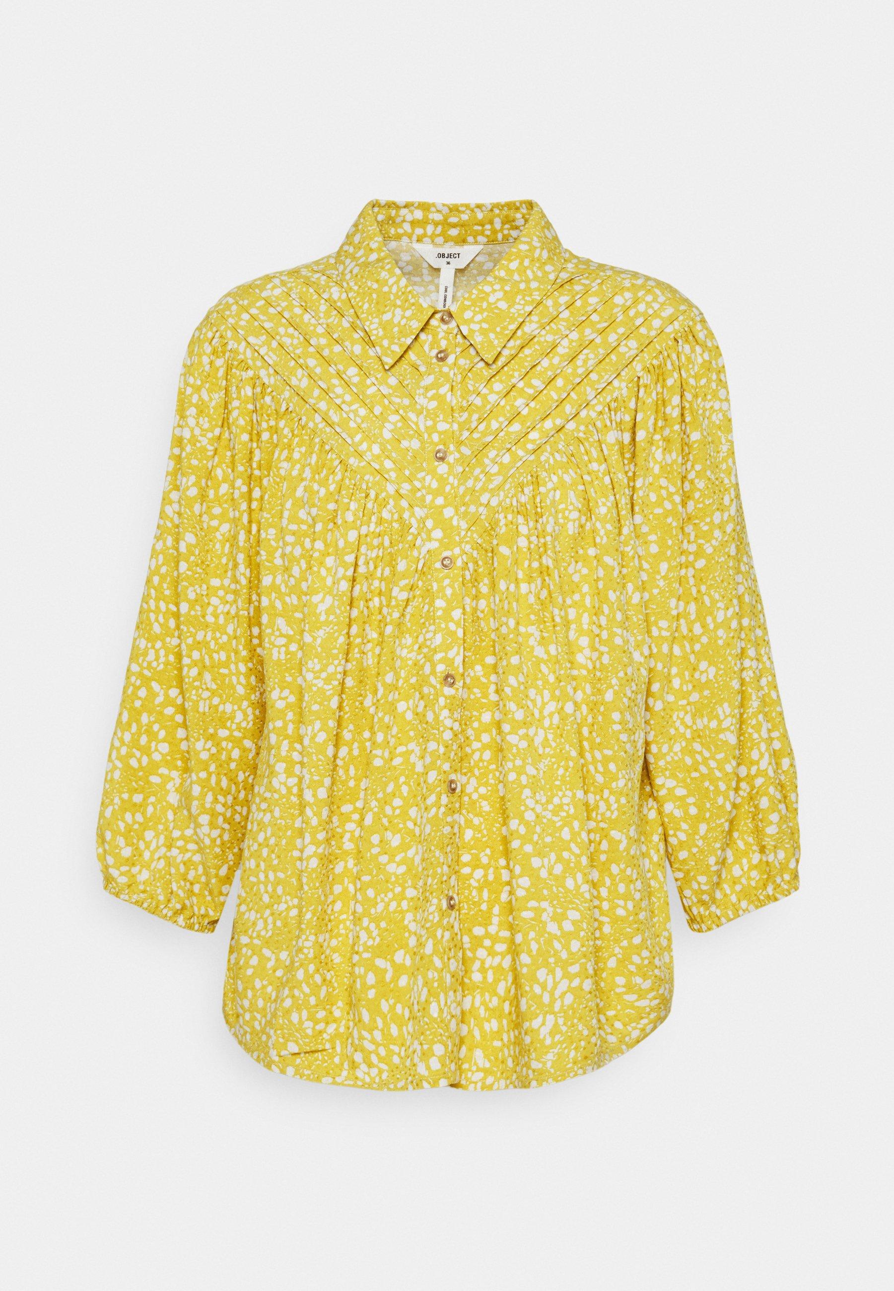 Women OBJHESSA - Button-down blouse