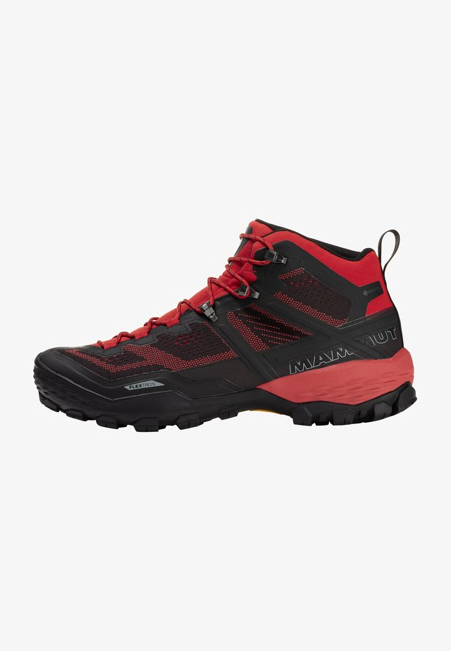 DUCAN MID GTX - Hikingskor - dark spicy-black