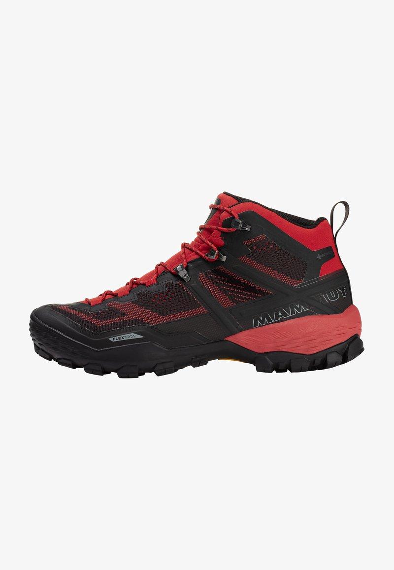 Mammut - DUCAN MID GTX - Hiking shoes - dark spicy-black