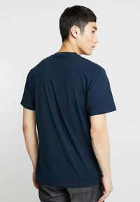 Vans - T-shirt basic - navy/white - 2