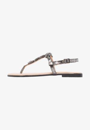 Sandály s odděleným palcem - dark gray