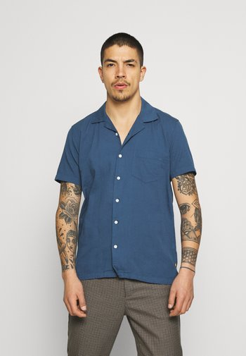 STACHIO SHIRT TEXTURED STRIPE - Shirt - ensign blue