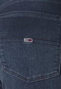 Tommy Jeans - NORA SKNY JDBST - Jeans Skinny Fit - jade dark blue - 5