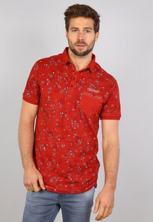 Polo shirt - rusty red