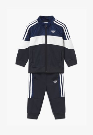 SET UNISEX - Tracksuit - black/blue