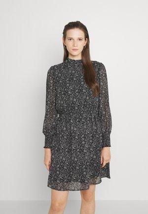 ONLSTAR HIGHNECK SMOCK DRESS - Day dress - black