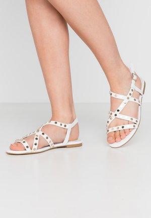 HANITA - Sandals - blanc