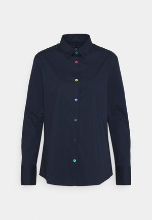 SHIRT - Button-down blouse - navy/ink