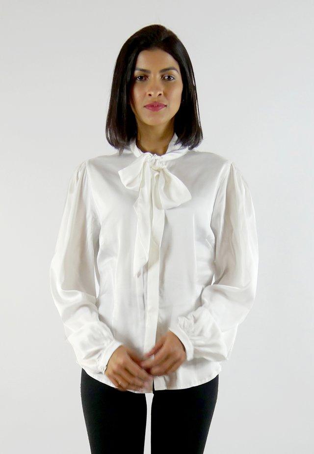 MARI - Button-down blouse - white