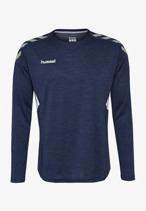 TECH MOVE - Long sleeved top - marine melange