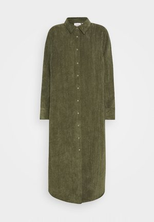 VANDERDISE DRESS - Shirt dress - winter moss