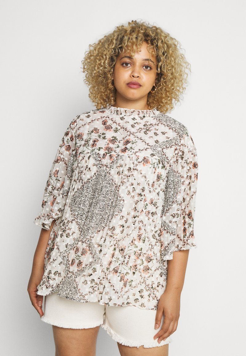 River Island Plus - Blouse - offwhite