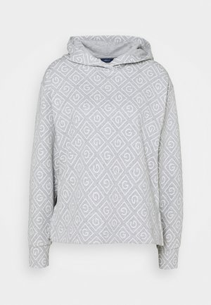 ICON HOODIE - Long sleeved top - light grey
