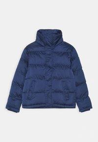 Blue Seven - TEENS SHINY PUFFER JACKET - Winter jacket - dk blau - 0