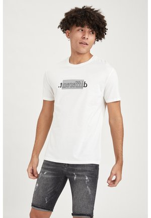 REGULAR FIT - Print T-shirt - white