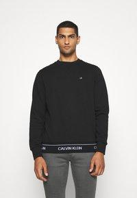 Calvin Klein - LOGO WAISTBAND - Felpa - black - 0