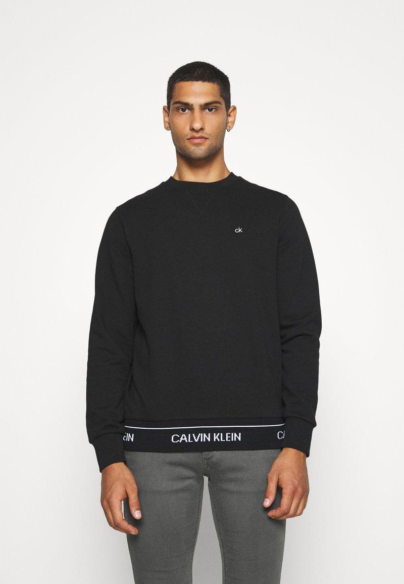 Calvin Klein - LOGO WAISTBAND - Felpa - black