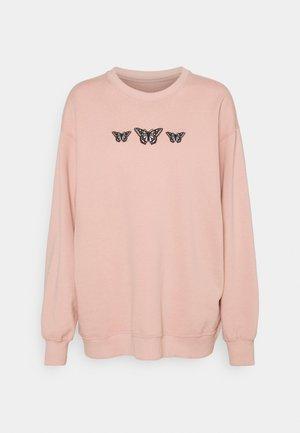 PUFF CREW - Sweater - pink