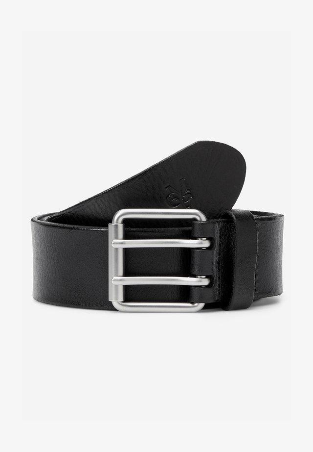 MIT ROLLSCHLIESSE UND ZWEI DORNEN - Belt - black