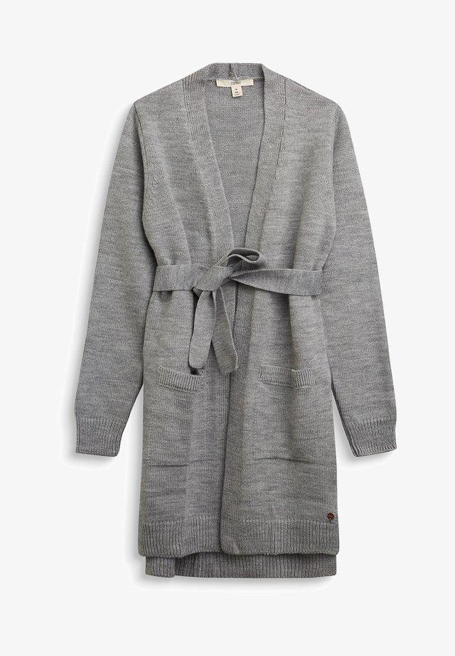 Strikjakke /Cardigans - medium grey