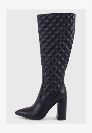 LEANNY - Stivali con i tacchi - black