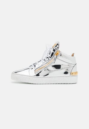 MID TOP - High-top trainers - silver-coloured