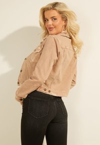 Guess - REGULAR FIT - Denim jacket - beige - 2