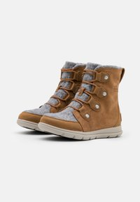 Sorel - EXPLORER JOAN - Lace-up ankle boots - cognac - 2