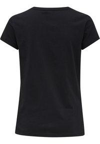 Hummel - SCARLET - Basic T-shirt - black - 5