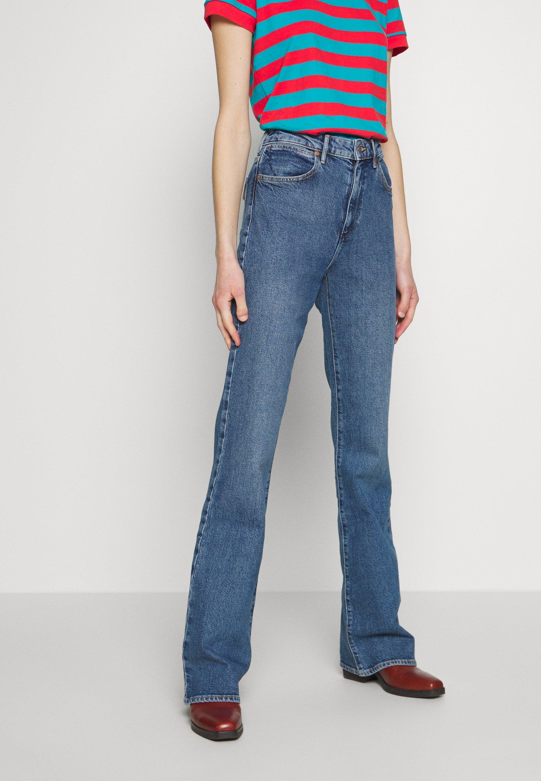 Wrangler Jean flare - beverly - Jeans Femme P3HGf
