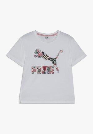 CLASSICS TEE - Camiseta estampada - white