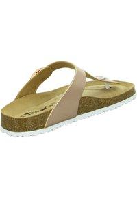 Tamaris - T-bar sandals - rose gold - 1