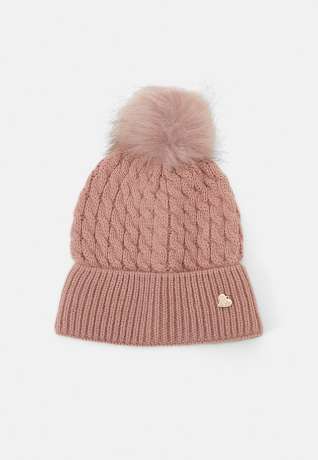 NOT COORDINATED CAP - Beanie - rosewood