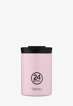 TRINKBECHER TRAVEL TUMBLER PASTEL - Drink bottle - rosa