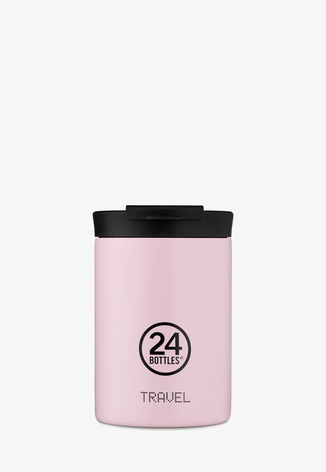 TRINKBECHER TRAVEL TUMBLER PASTEL - Drink bottle - rosa