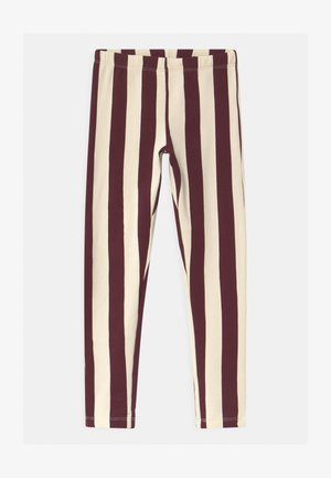 MINI ALL KIDS STRIPE - Legíny - brown