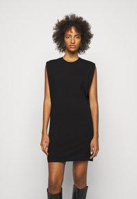 DESIGNERS REMIX - MANDY MUSCLE DRESS - Sukienka etui - black - 0