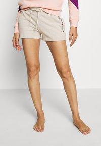 Tommy Hilfiger - ORIGINAL  - Pyjama bottoms - oatmeal heather - 0