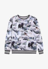 Molo - RAEWYN - Langærmede T-shirts - mottled grey - 2