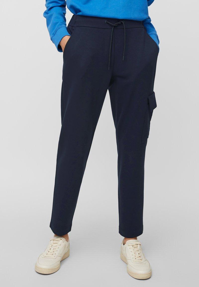 Marc O'Polo DENIM - Pantalon cargo - scandinavian blue