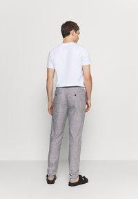 Springfield - PANT TEXTURAS - Trousers - dark grey - 2